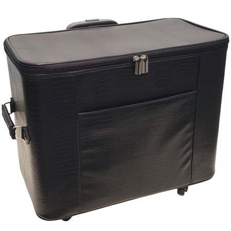 20in Wheeled Sewing Machine Hard Case - Black