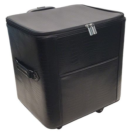 15in Wheeled Serger Hard Case - Black