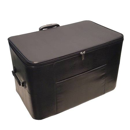 24in Wheeled Sewing Machine Hard Case - Black