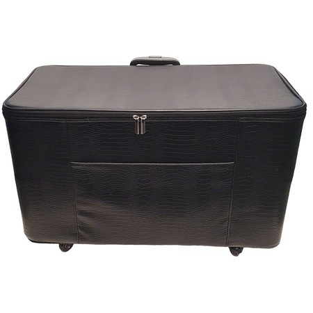 27in Wheeled Sewing Machine Hard Case - Black
