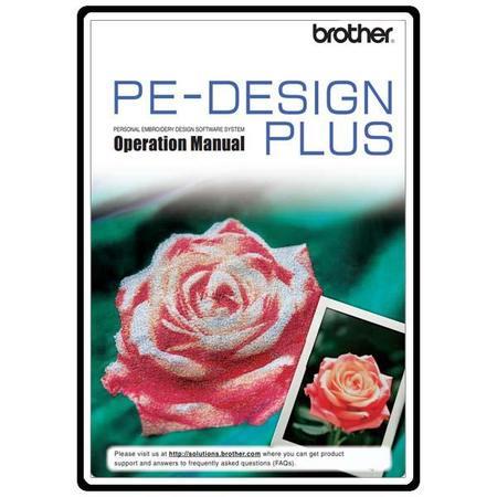 Instruction Manual, Brother PE-DESIGN PLUS
