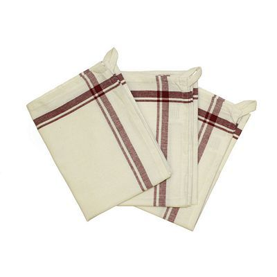 Retro Striped Towels - Set of 3