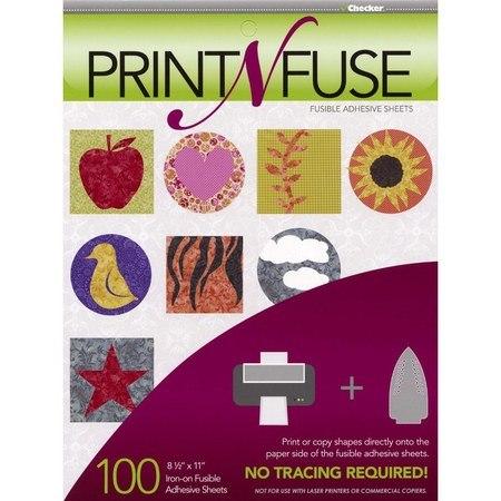Print n' Fuse Inkjet Fusible Sheets 100pk