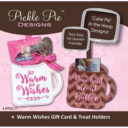 Warm Wishes Gift Card & Treat Holder CD