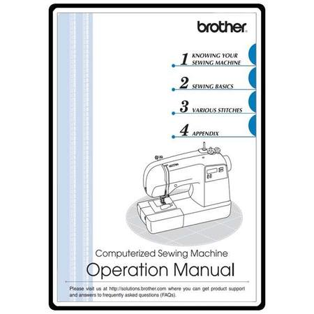 Instruction Manual, Brother PQ-9000