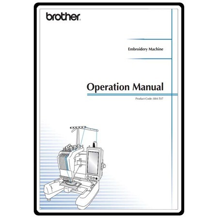 Instruction Manual, Brother PR-650e