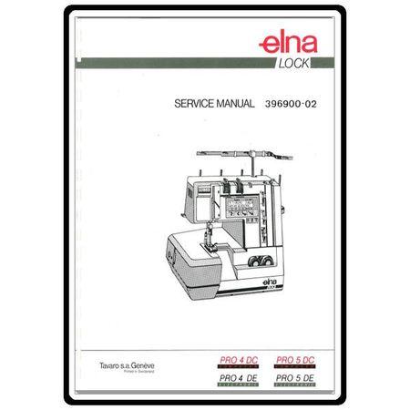Service Manual, Elna PRO4