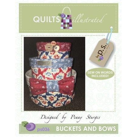 Nesting Buckets Pattern, Buckets n Bows
