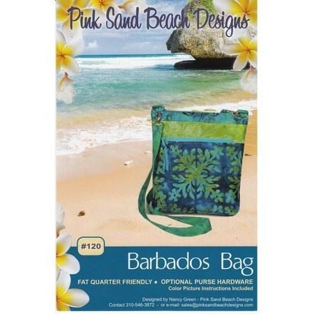 Barbados Bag Pattern, Pink Sand Beach Designs