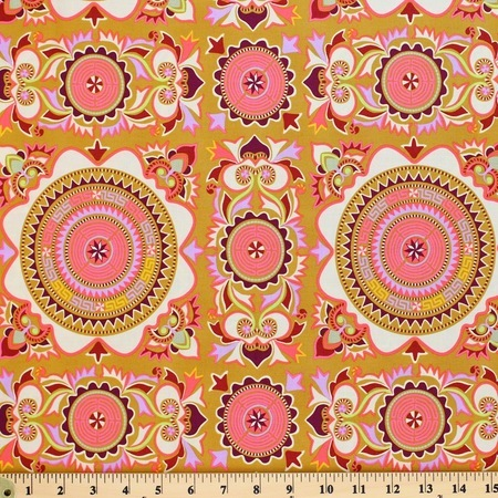 Amy Butler, Dream Weaver, Mantra, Linen Fabric