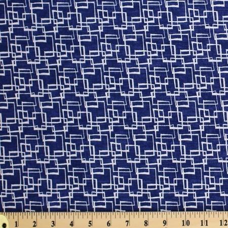 David Walker, Jeans & Things, Squared, Indigo Fabric