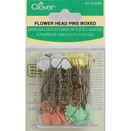 Universal Flower Head Pins (100 CT) , Clover #Q2506