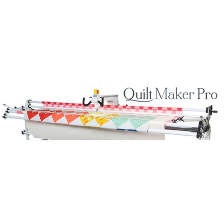 Janome QMPRO18 Quilt Maker Pro 18 Longarm Quilting Machine with Adjustable Frame