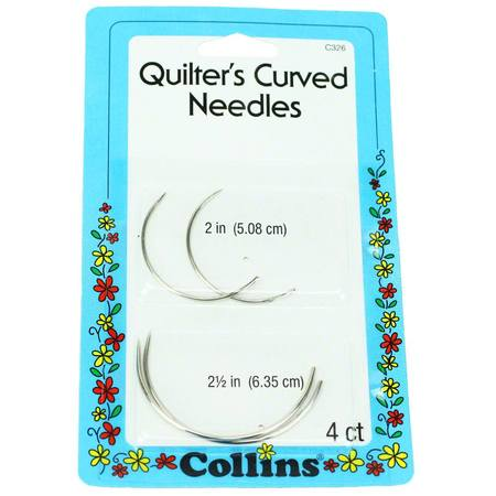 Quilter's Curved Needles, Collins