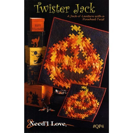 Twister Jack Quilt Pattern, Need'L Love