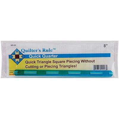 "Quick Quarter Seam Guide (8""), Quilter's Rule"