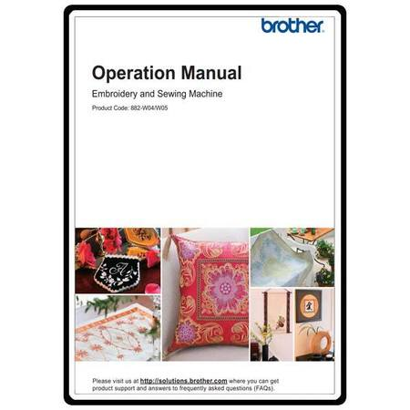 Instruction Manual, Brother Quattro 2 6700D