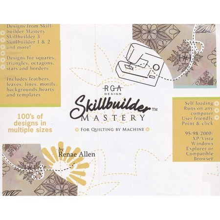 Skillbuilder Mastery CD-ROM For Quilting by Machine