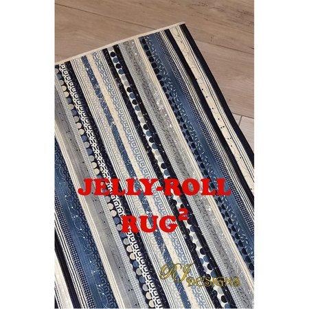 Jelly-Roll Rug II Pattern, R.J. Designs