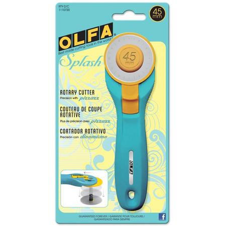 Olfa 45mm Splash Rotary Cutter #RTY-2/C
