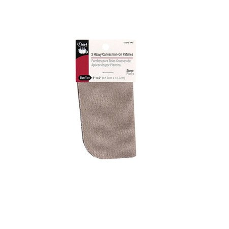 Dritz Canvas Iron-On Patches - 2ct