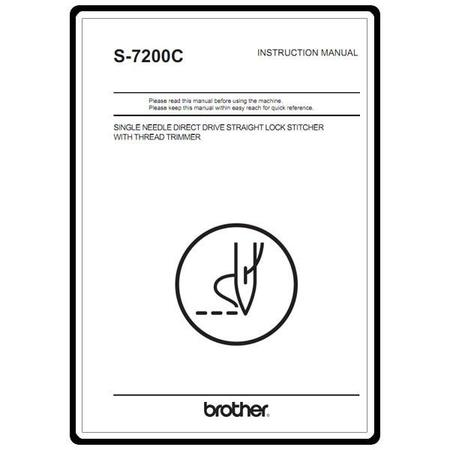 Instruction Manual, Brother S-7200C