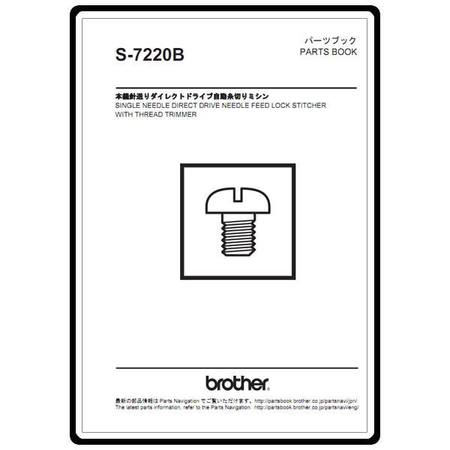 Instruction Manual, Brother S-7220B