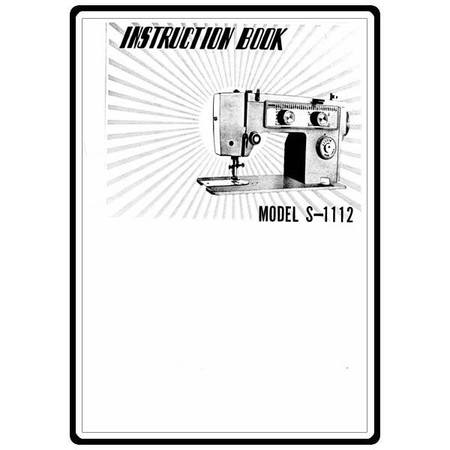 Instruction Manual, White S1112