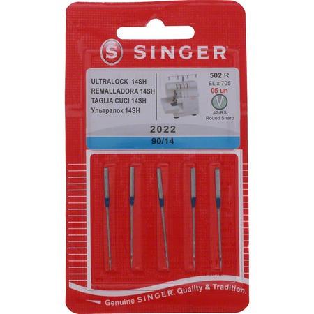 Serger Needles, Singer Type 2022 (5pk)