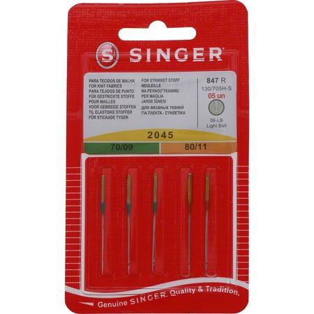 "Singer Needle Assortment  Yellow Tip (3-9"", 2-11"")"