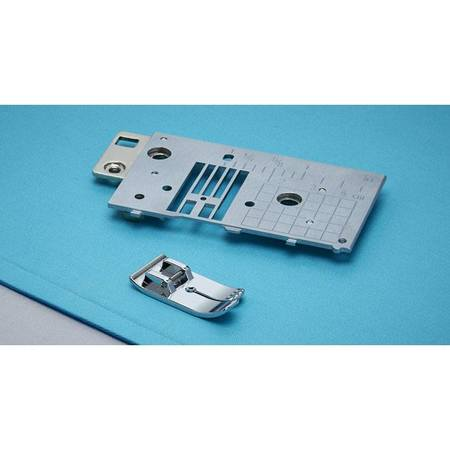 Straight Stitch Needle Plate & Foot, Brother #SA564