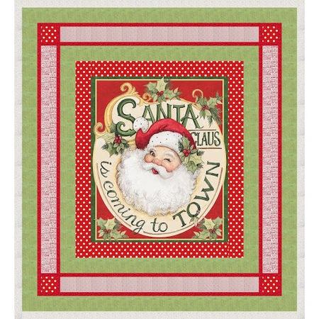 Retro Santa Quilt