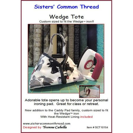 Wedge Tote Pattern, Sisters' Common Thread
