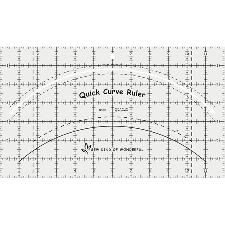 Quick Curve Ruler, Sew Kind of Wonderful