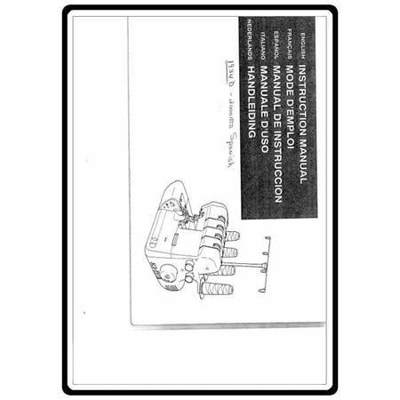 Instruction Manual, White SL1934D