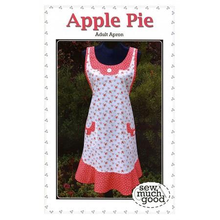 Apple Pie Apron Pattern, Sew Much Good