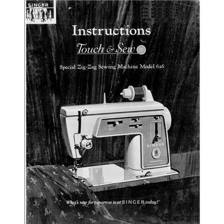 Instruction Manual, Singer 626E6