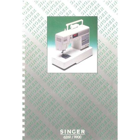 Instruction Manual, Singer 9900