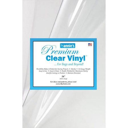 Premium Clear Vinyl Fabric, 16 Gauge - 54in