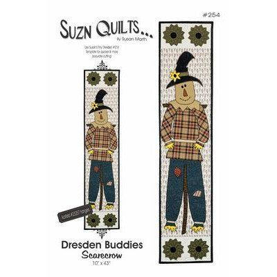 Dresden Buddies Scarecrow Pattern, Suzn Quilts