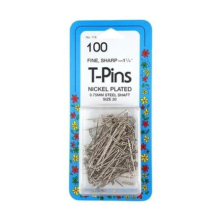 T Pins, Collins (100pk) #TP116