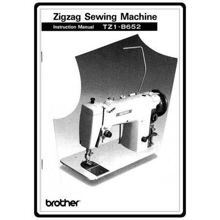 Instruction Manual, Brother TZ1-B652