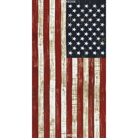 Timeless Treasures, American Flag Fabric Panel