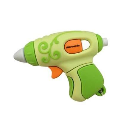 4GB USB Flash Drive, Green Glue Gun, Smartneedle