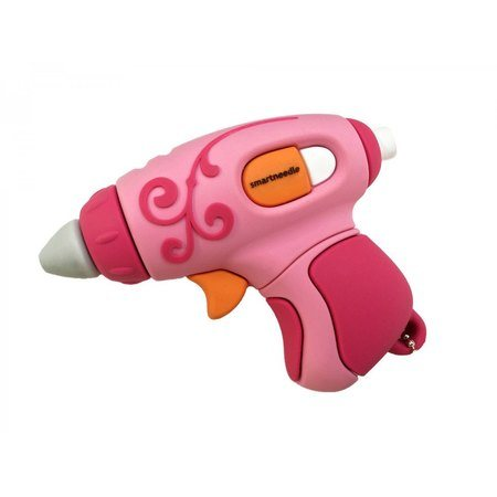 4GB USB Flash Drive, Pink Glue Gun, Smartneedle