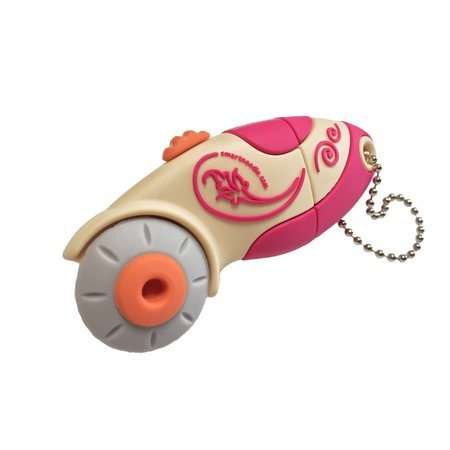4GB USB Flash Drive, Pink Rotary Cutter, Smartneedle