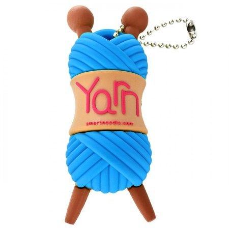 2GB USB Flash Drive, Blue Yarn, Smartneedle