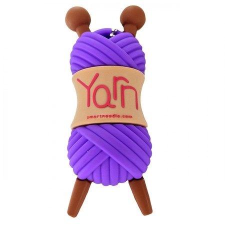 4GB USB Flash Drive, Purple Yarn, Smartneedle