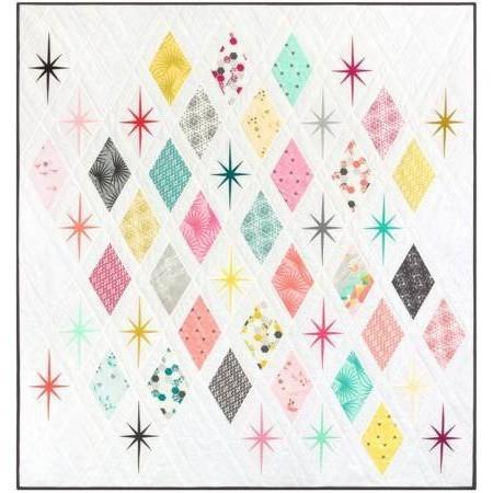 Atomic Starburst Quilt Pattern