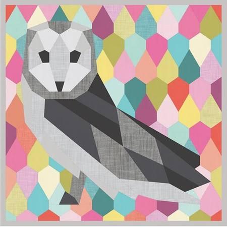 Barn Owl Wall Quilt Pattern